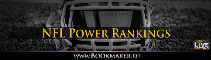 NFL Power Rankings Betting
