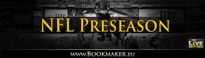 2019 NFL Preseason Betting