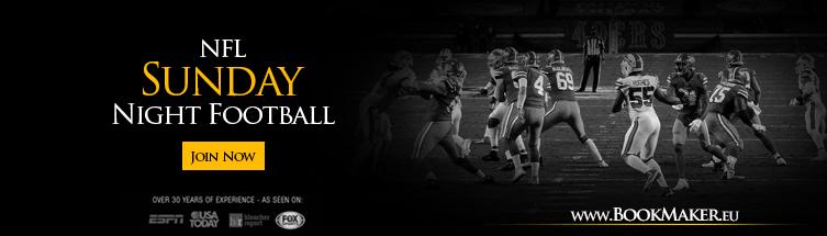 NFL Sunday Night Football Odds