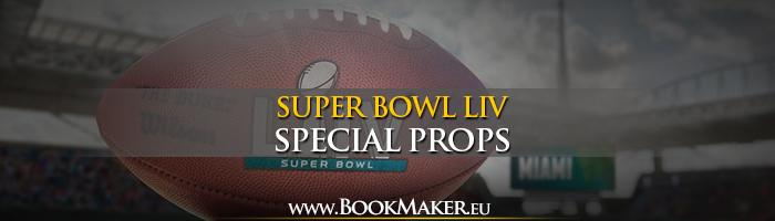 NFL Super Bowl LIV Special Props