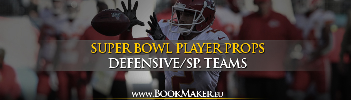 Super Bowl LIV Defense/SP. Teams Props