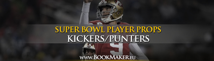 Kickers/Punters Super Bowl LIV Prop Bets