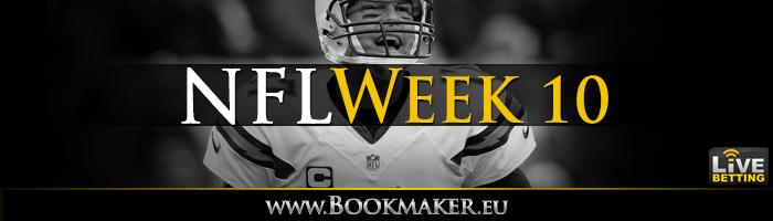 NFL Week 10 Betting
