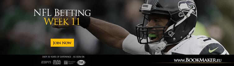 NFL Week 11 Lines