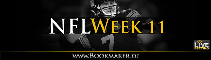NFL Week 11 Betting