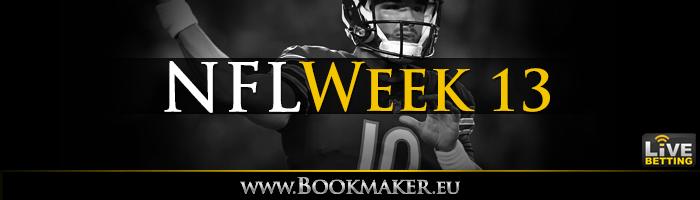 NFL Week 13 Betting