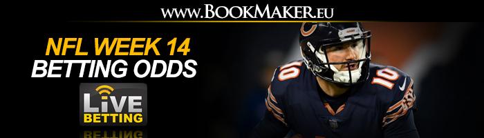 NFL Week 14 Betting Odds