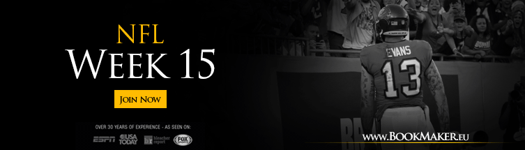 nfl betting odds for week 15