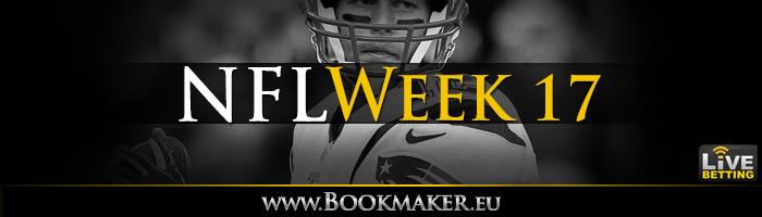 NFL Week 17 Betting