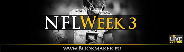 NFL Week 3 Betting