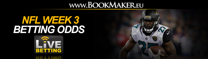 NFL Week 3 Betting Odds