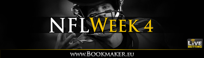 NFL Week 4 Betting