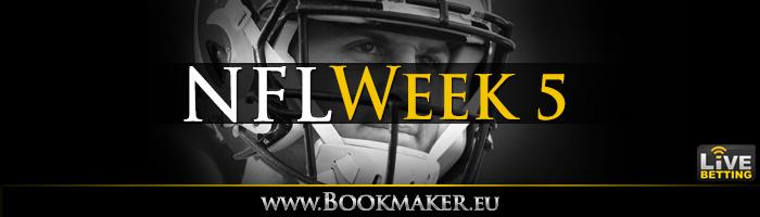 NFL Week 5 Betting