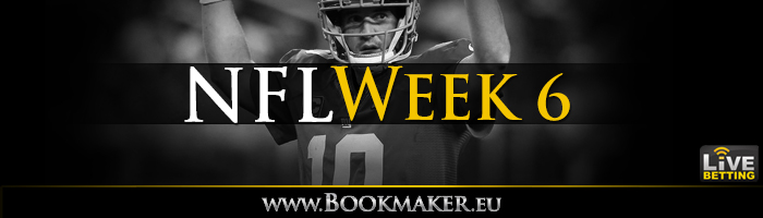 NFL Week 6 Betting