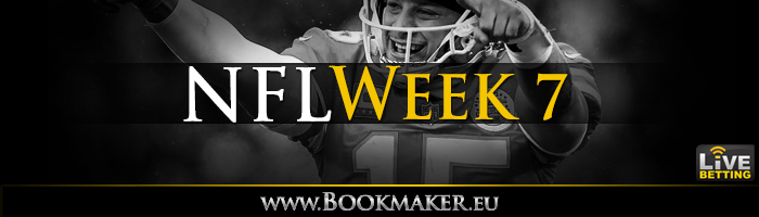 NFL Week 7 Betting