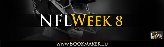 NFL Week 8 Betting