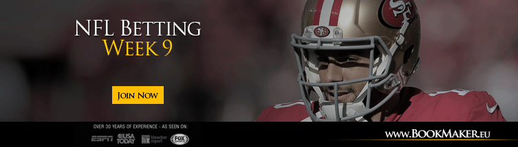 Nfl week 9 betting lines chelsea next manager betting
