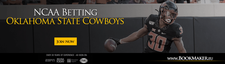 Oklahoma State Cowboys NCAA Football Betting