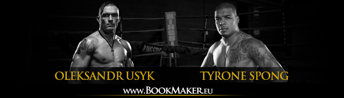 Oleksandr Usyk vs. Tyrone Spong Boxing Betting