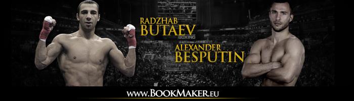 Radzhab Butaev vs. Alexander Besputin Boxing Betting
