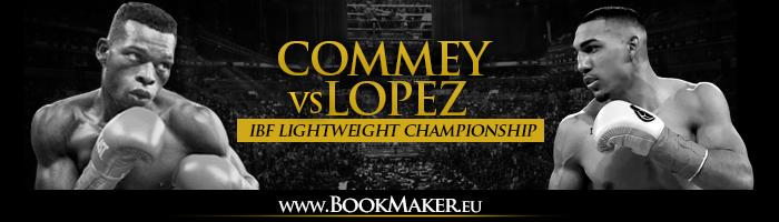Richard Commey vs. Teofimo Lopez Jr. Boxing Betting