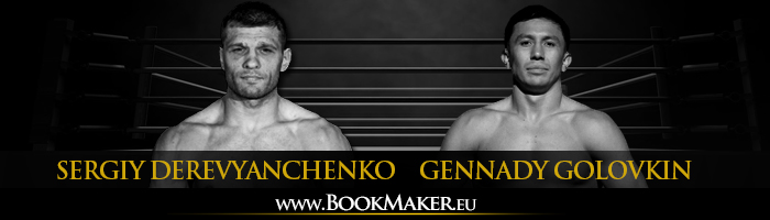 Gennady Golovkin vs. Sergiy Derevyanchenko Boxing Betting