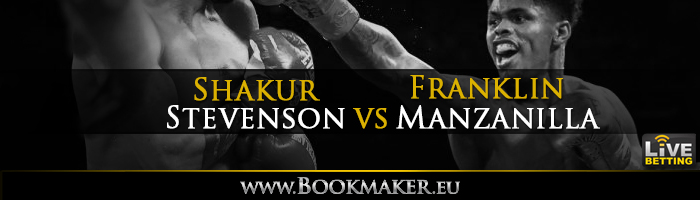 Shakur Stevenson vs. Franklin Manzanilla Boxing Betting
