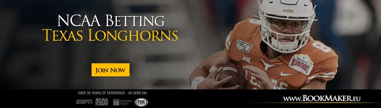 Texas Longhorns NCAA Football Betting