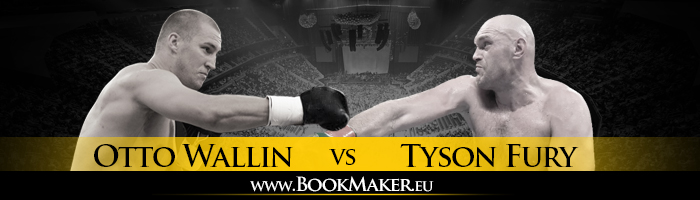 Tyson Fury vs. Otto Wallin Boxing Betting