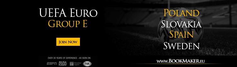 2020 UEFA Euro Group E Betting