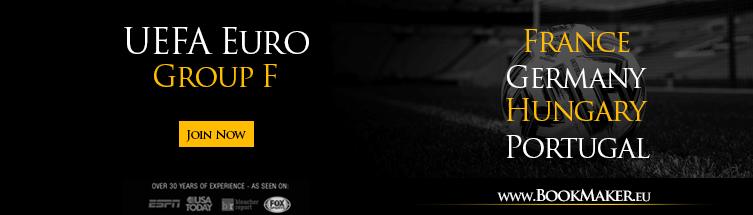 2020 UEFA Euro Group F Betting