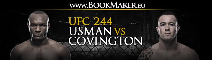 UFC 244: Usman vs Covington Betting