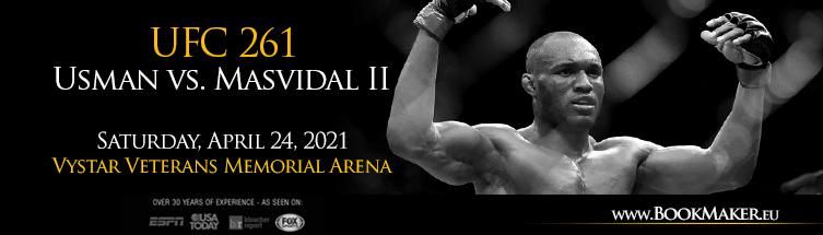 UFC 261: Usman vs. Masvidal 2 Betting