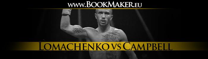 Vasiliy Lomachenko vs. Luke Campbell Boxing Betting