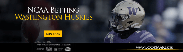 Washington Huskies NCAA Football Betting