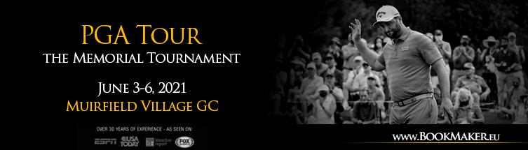 12++ Betting odds memorial golf tournament information
